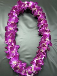 Double Bombay Lei from Visser's Florist and Greenhouses in Anaheim, CA