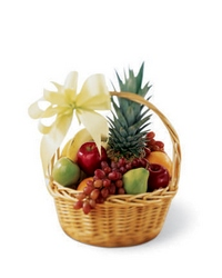 Fruit Basket from Visser's Florist and Greenhouses in Anaheim, CA