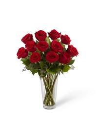 Red Rose Bouquet from Visser's Florist and Greenhouses in Anaheim, CA