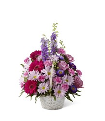 Pastel Peace Basket from Visser's Florist and Greenhouses in Anaheim, CA