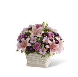 Loving Sympathy Basket from Visser's Florist and Greenhouses in Anaheim, CA