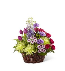 Truly Loved Basket from Visser's Florist and Greenhouses in Anaheim, CA