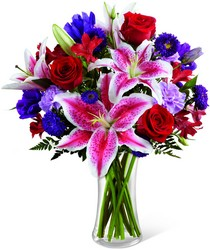 The FTD Stunning Beauty Bouquet from Visser's Florist and Greenhouses in Anaheim, CA