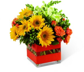 Perfect Sun Bouquet from Visser's Florist and Greenhouses in Anaheim, CA