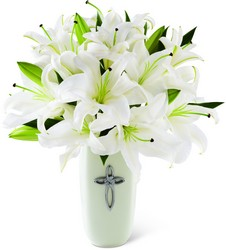 Faithful Blessings Bouquet from Visser's Florist and Greenhouses in Anaheim, CA