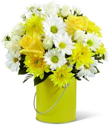 Color Your Day With Sunshine Bouquet from Visser's Florist and Greenhouses in Anaheim, CA