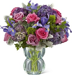 The FTD Lavender Luxe Luxury Bouquet from Visser's Florist and Greenhouses in Anaheim, CA