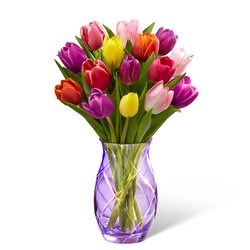 The Spring Tulip Bouquet by Better Homes and Gardens from Visser's Florist and Greenhouses in Anaheim, CA