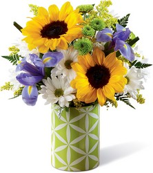 The Sunflower Sweetness Bouquet from Visser's Florist and Greenhouses in Anaheim, CA