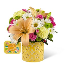 The Brighter Than Bright Bouquet by Hallmark from Visser's Florist and Greenhouses in Anaheim, CA