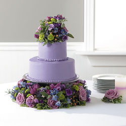 Wedding Cake from Visser's Florist and Greenhouses in Anaheim, CA