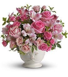 Pink Potpourri Bouquet from Visser's Florist and Greenhouses in Anaheim, CA
