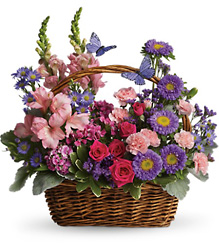 Country Basket Blooms from Visser's Florist and Greenhouses in Anaheim, CA