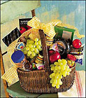 Huntington Beach Florist - Gourmet Picnic Basket