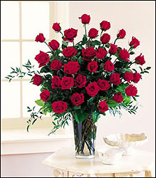 Three Dozen Red Roses from Visser's Florist and Greenhouses in Anaheim, CA